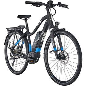 HAIBIKE SDURO Trekking 5.0 Femme, black/blue/white matte